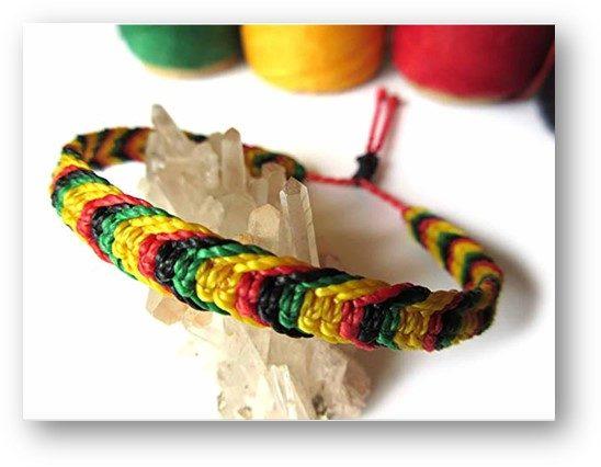 Cross-Color Bracelet