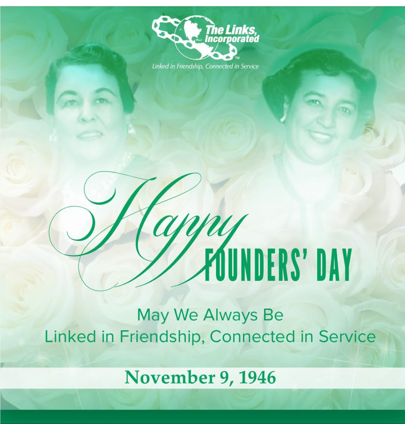 Happy Founders Day Nov 9