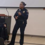 Engaging with students, parents: Cpl. Domino Scott-Jackson, Pasadena Police Department, Feb 2020
